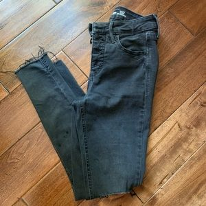 Old navy jeans button fly, high waste, skinny